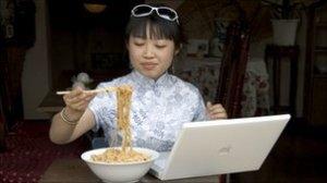 Chiense computer user