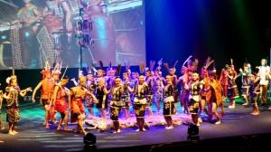lansaran dance