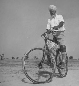 Sikh bicycle