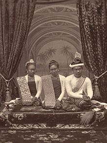 Thibaw and wives