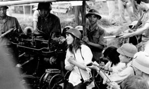 Jane Fonda was at the peak of her fame when she visited Vietnam in 1972
