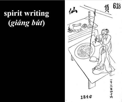 spirit writing