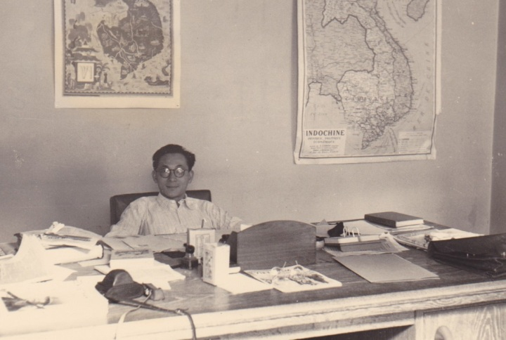 3 Truong Buu Khanh cabinet de SM Bao Dai 89 ave Villiers 17e 1951