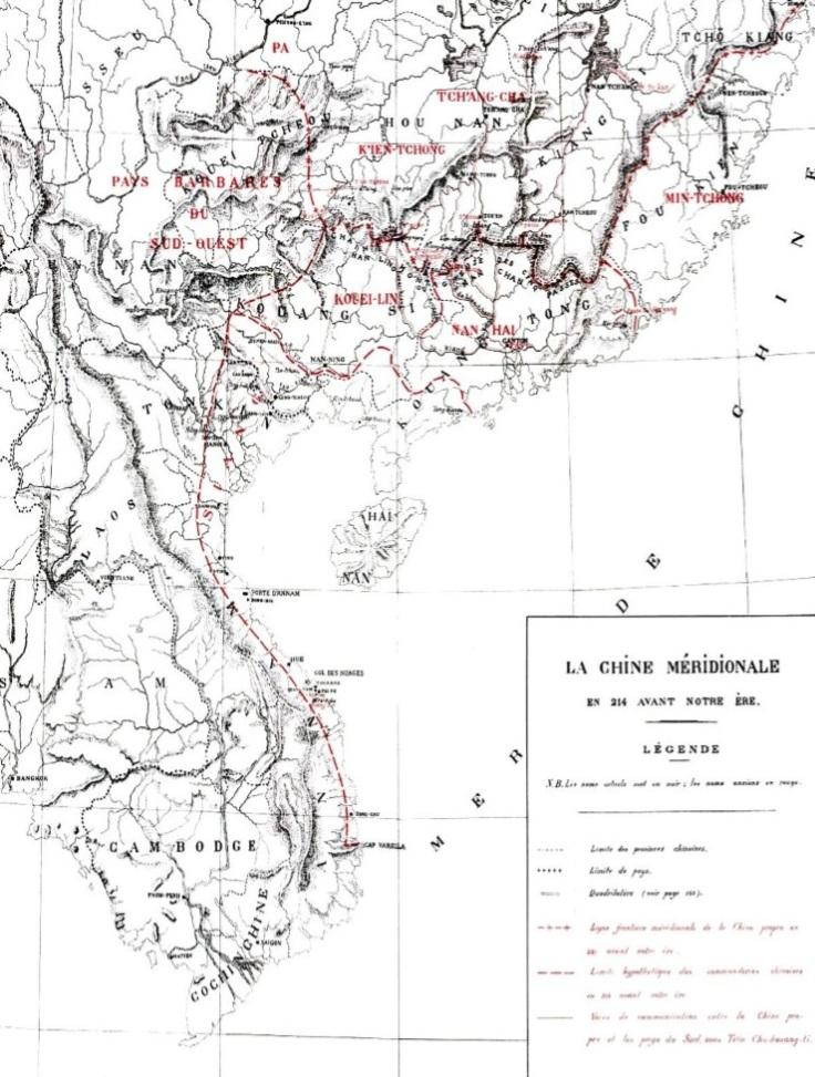 Aurousseau map