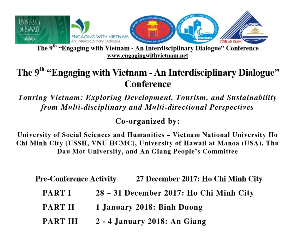 Engaging With Vietnam Conference #9 Program